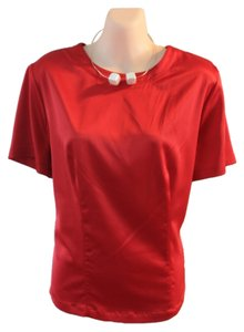 Essentials by Milano Causal Formal Church Classic Top Red