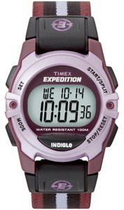 Timex Timex Female Sport Watch T49659 Grey Digital