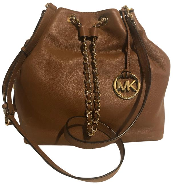 Item - Large Frankie Convertible Tote Brown Leather Cross Body Bag