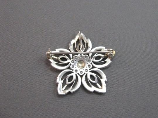 Other Sterling Silver, onyx and marcasite vintage looking pin brooch
