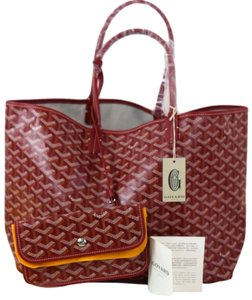 Goyard Gucci Paris Gg Tote in Red