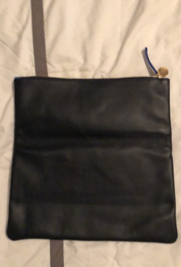 Clare V. Navy and Cobalt Clutch Image 2