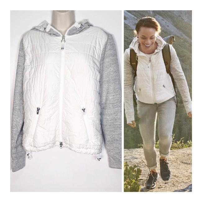 Preload https://img-static.tradesy.com/item/26134209/athleta-white-and-grey-cozy-insulated-hoodie-activewear-size-12-l-0-0-650-650.jpg