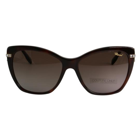 Preload https://img-static.tradesy.com/item/26134243/chopard-brown-and-gold-new-imperiale-sch232s-9xkp-women-jeweled-polarized-cat-eye-sunglasses-0-7-540-540.jpg