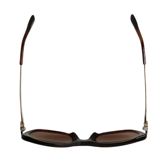 Chopard New Imperiale SCH232S 9XKP Women Jeweled Polarized Cat Eye Sunglasses Image 6