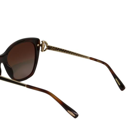 Chopard New Imperiale SCH232S 9XKP Women Jeweled Polarized Cat Eye Sunglasses Image 8