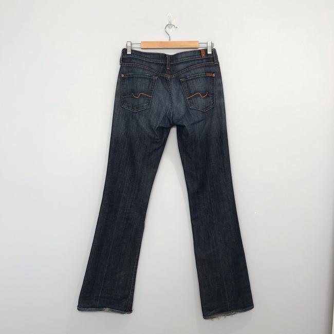 7 For All Mankind Boot Cut Jeans-Dark Rinse Image 6