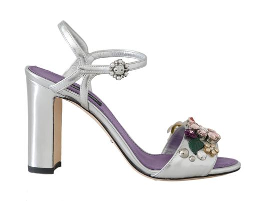 Preload https://img-static.tradesy.com/item/26134297/dolce-and-gabbana-purple-silver-crystal-floral-sandals-size-eu-36-approx-us-6-regular-m-b-0-0-540-540.jpg