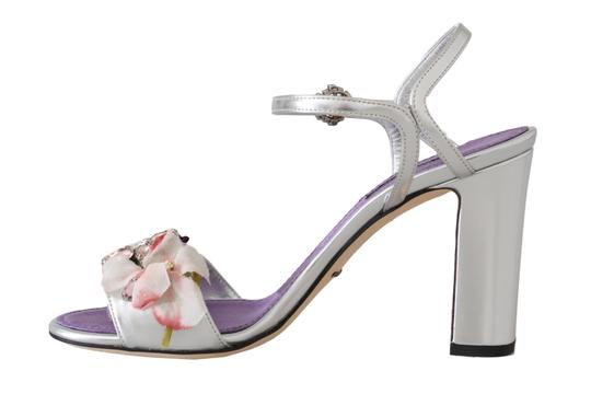 Dolce&Gabbana Purple, Silver Sandals Image 3