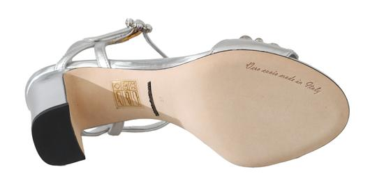 Dolce&Gabbana Purple, Silver Sandals Image 4