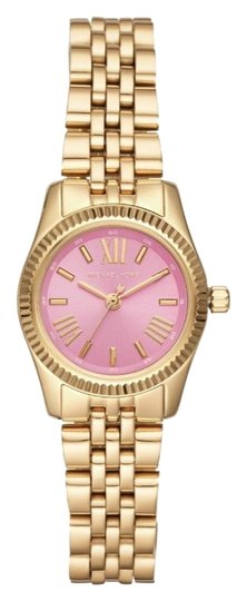 Michael Kors NEW Women's Petite Lexington Gold-Tone Watch MK4363 Image 1