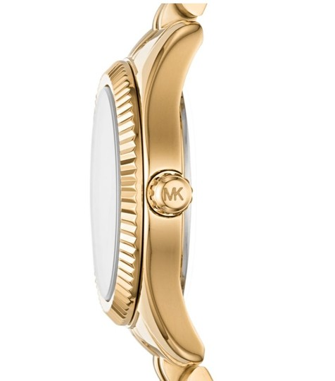 Michael Kors NEW Women's Petite Lexington Gold-Tone Watch MK4363 Image 10