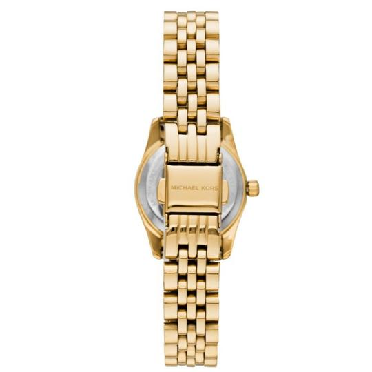 Michael Kors NEW Women's Petite Lexington Gold-Tone Watch MK4363 Image 11