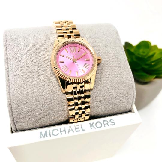 Michael Kors NEW Women's Petite Lexington Gold-Tone Watch MK4363 Image 4