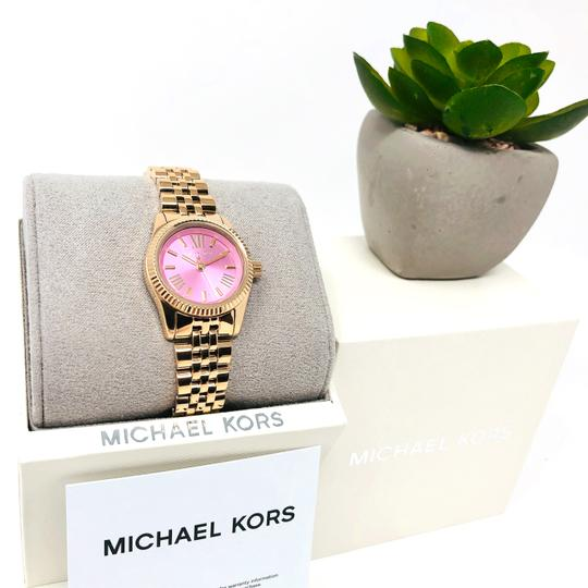 Michael Kors NEW Women's Petite Lexington Gold-Tone Watch MK4363 Image 8