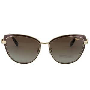 Chopard New SCH C16S imperiale Women Crystals Polarized Cat Eye Sunglasses