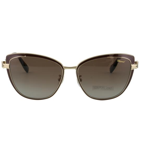 Preload https://img-static.tradesy.com/item/26134333/chopard-brown-and-gold-new-sch-c16s-imperiale-women-crystals-polarized-cat-eye-sunglasses-0-3-540-540.jpg