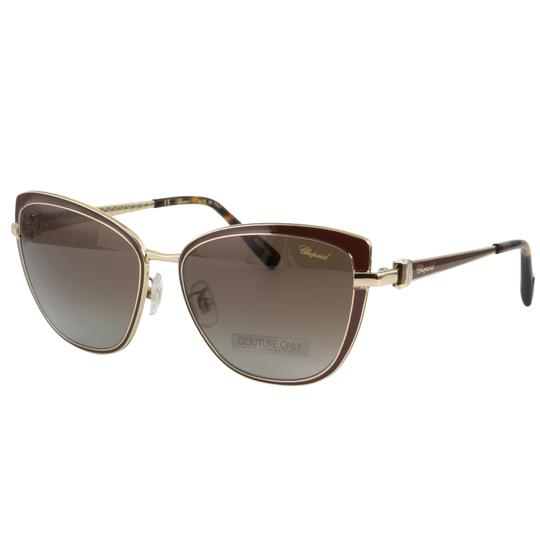Chopard New SCH C16S imperiale Women Crystals Polarized Cat Eye Sunglasses Image 1