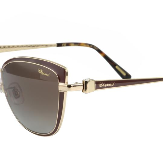 Chopard New SCH C16S imperiale Women Crystals Polarized Cat Eye Sunglasses Image 2