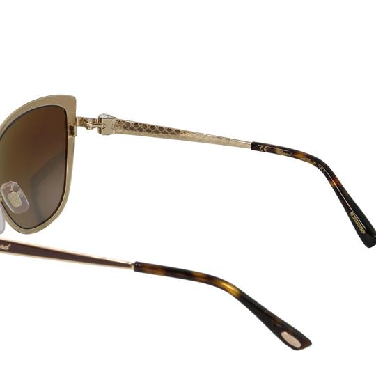 Chopard New SCH C16S imperiale Women Crystals Polarized Cat Eye Sunglasses Image 8