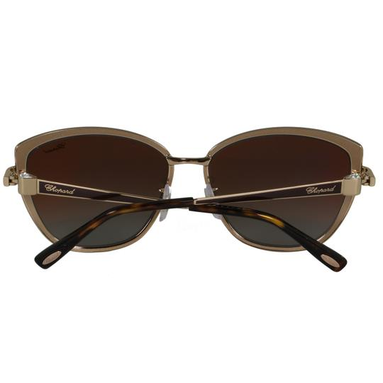 Chopard New SCH C16S imperiale Women Crystals Polarized Cat Eye Sunglasses Image 9