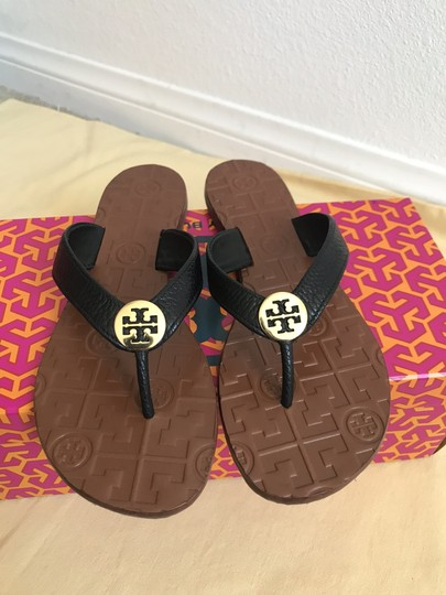 Tory Burch Black Sandals Image 3