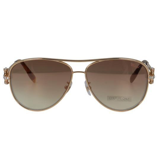 Preload https://img-static.tradesy.com/item/26134345/chopard-peach-and-gold-new-sch-c17s-imperiale-women-crystals-pink-flash-aviator-sunglasses-0-3-540-540.jpg