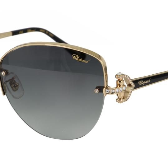 Chopard New SCH C18S imperiale Women Crystals Semi-Rimless Cat Eye Sunglasses Image 1
