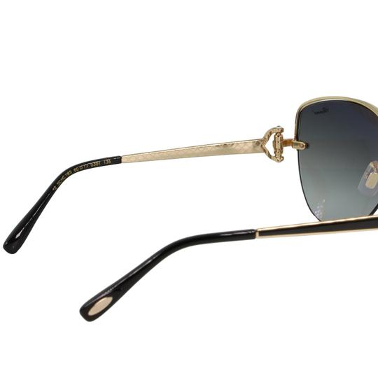 Chopard New SCH C18S imperiale Women Crystals Semi-Rimless Cat Eye Sunglasses Image 6