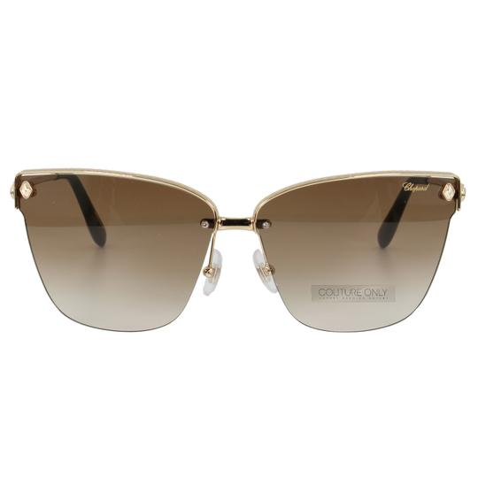 Preload https://img-static.tradesy.com/item/26134390/chopard-brown-and-gold-new-sch-c19s-imperiale-women-crystals-semi-rimless-cat-eye-sunglasses-0-6-540-540.jpg