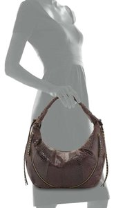 orYANY Whipstitch Jasmine Leather Hobo Bag