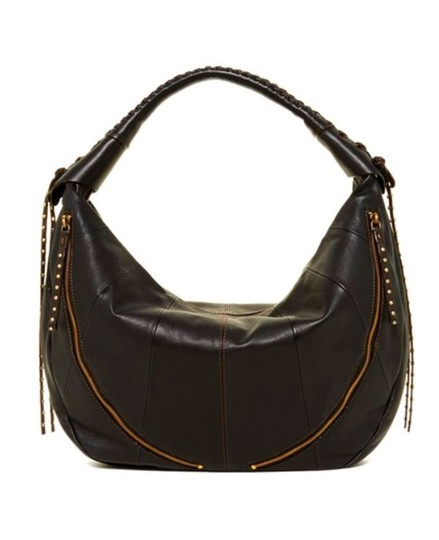 orYANY Whipstitch Jasmine Leather Hobo Bag Image 2