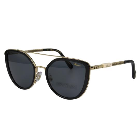 Chopard New SCH C23 Ice Cube Women Jeweled Ceramic Detail Cat Eye Sunglasses Image 1