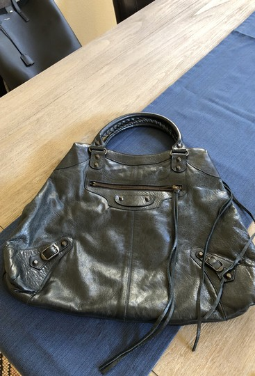 Balenciaga Satchel in Black Image 1