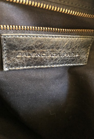 Balenciaga Satchel in Black Image 4