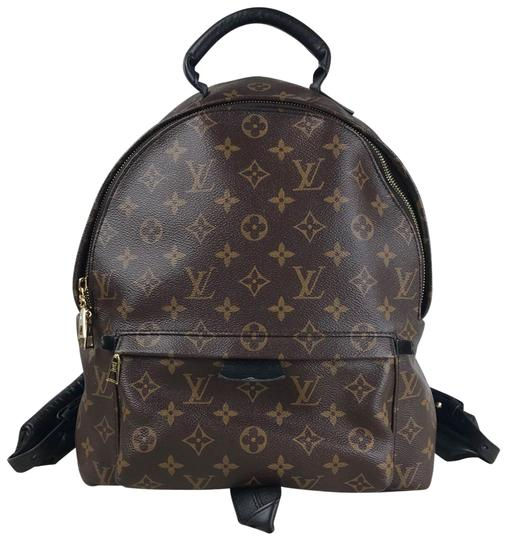 Preload https://img-static.tradesy.com/item/26134557/louis-vuitton-palm-springs-monogram-brown-coated-canvas-backpack-0-1-540-540.jpg