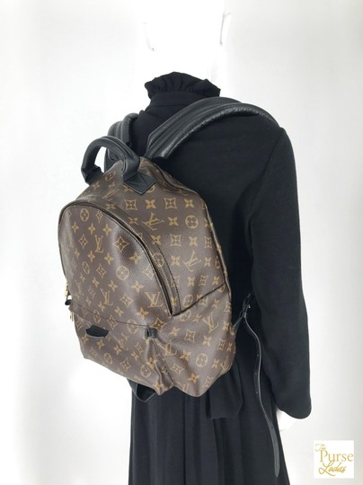 Louis Vuitton Monogram Palm Springs Backpack Image 11