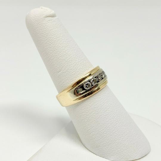 Other 14k Yellow Gold and .6ct Diamond Wedding Band Ring Size 7 Image 4