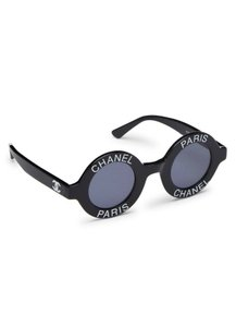 Chanel Circular Sunglasses Vintage Chanel Round Sunglasses