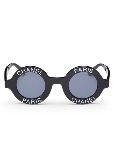 Chanel Circular Sunglasses Vintage Chanel Round Sunglasses Image 1