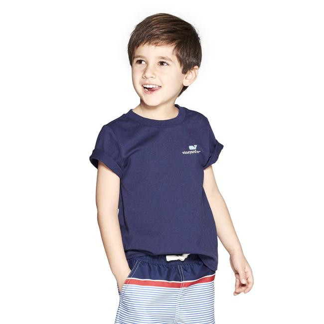 Vineyard Vines T Shirt Navy Image 1