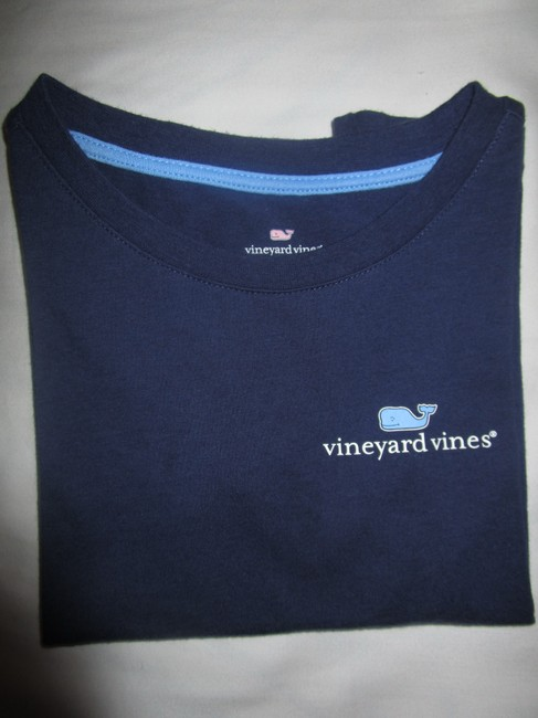 Vineyard Vines T Shirt Navy Image 2