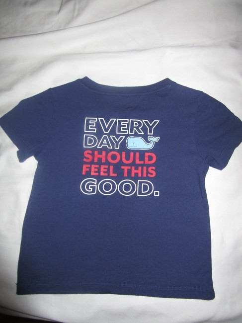 Vineyard Vines T Shirt Navy Image 4