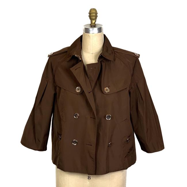 Burberry Brown Jacket Image 1