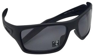 Oakley Polarized OAKLEY Sunglasses TURBINE OO9263-07 Matte Black w/Grey