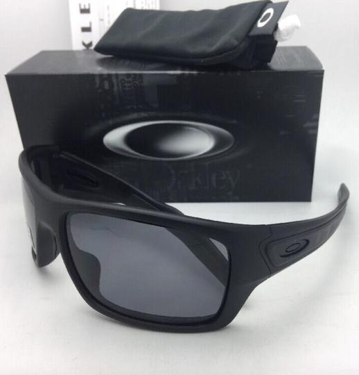 Oakley Polarized OAKLEY Sunglasses TURBINE OO9263-07 Matte Black w/Grey Image 4