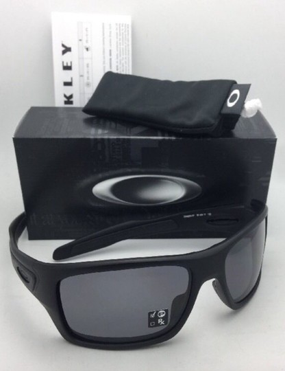 Oakley Polarized OAKLEY Sunglasses TURBINE OO9263-07 Matte Black w/Grey Image 6