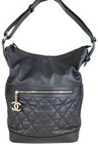 Chanel Caviar Leather Hobo Bag