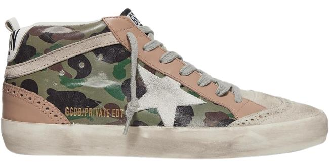 Item - Mid Star Distressed Leather Sneakers Size EU 36 (Approx. US 6) Regular (M, B)