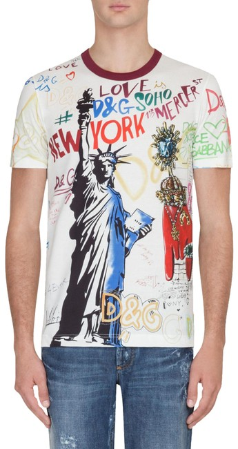 Preload https://img-static.tradesy.com/item/26134804/dolce-and-gabbana-white-men-s-nyc-liberty-printed-cotton-t-shirt-tee-shirt-size-4-s-0-4-650-650.jpg